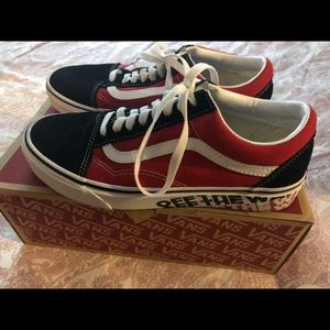 Limited edition Vans